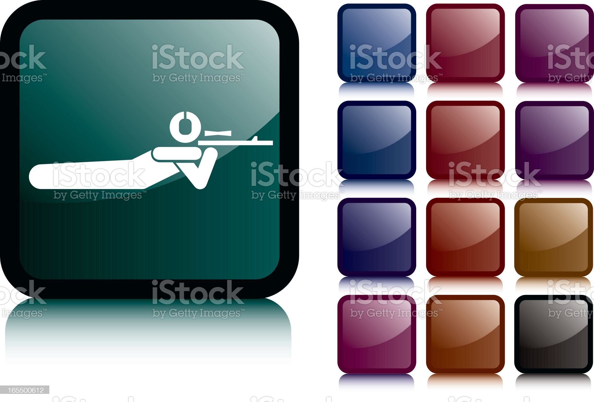 Shooting royalty-free stock vector art