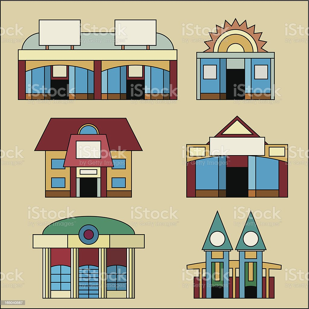 Shop Collection royalty-free stock vector art