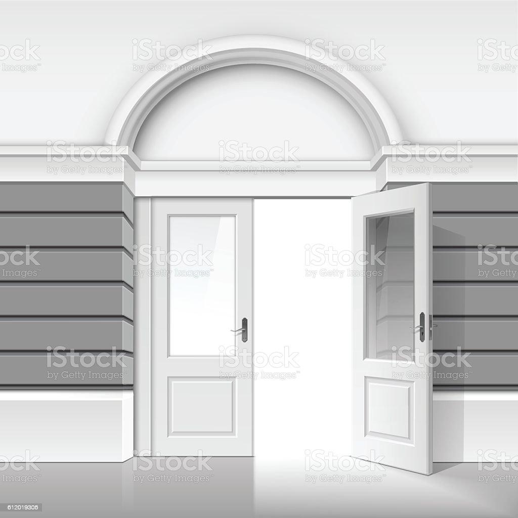 Glass Doors Clipart gallery door clip art, vector images & illustrations - istock