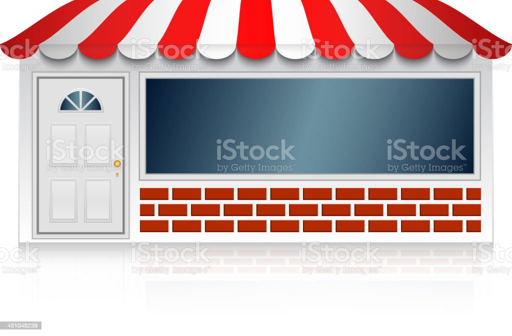 Shop royalty-free stock vector art