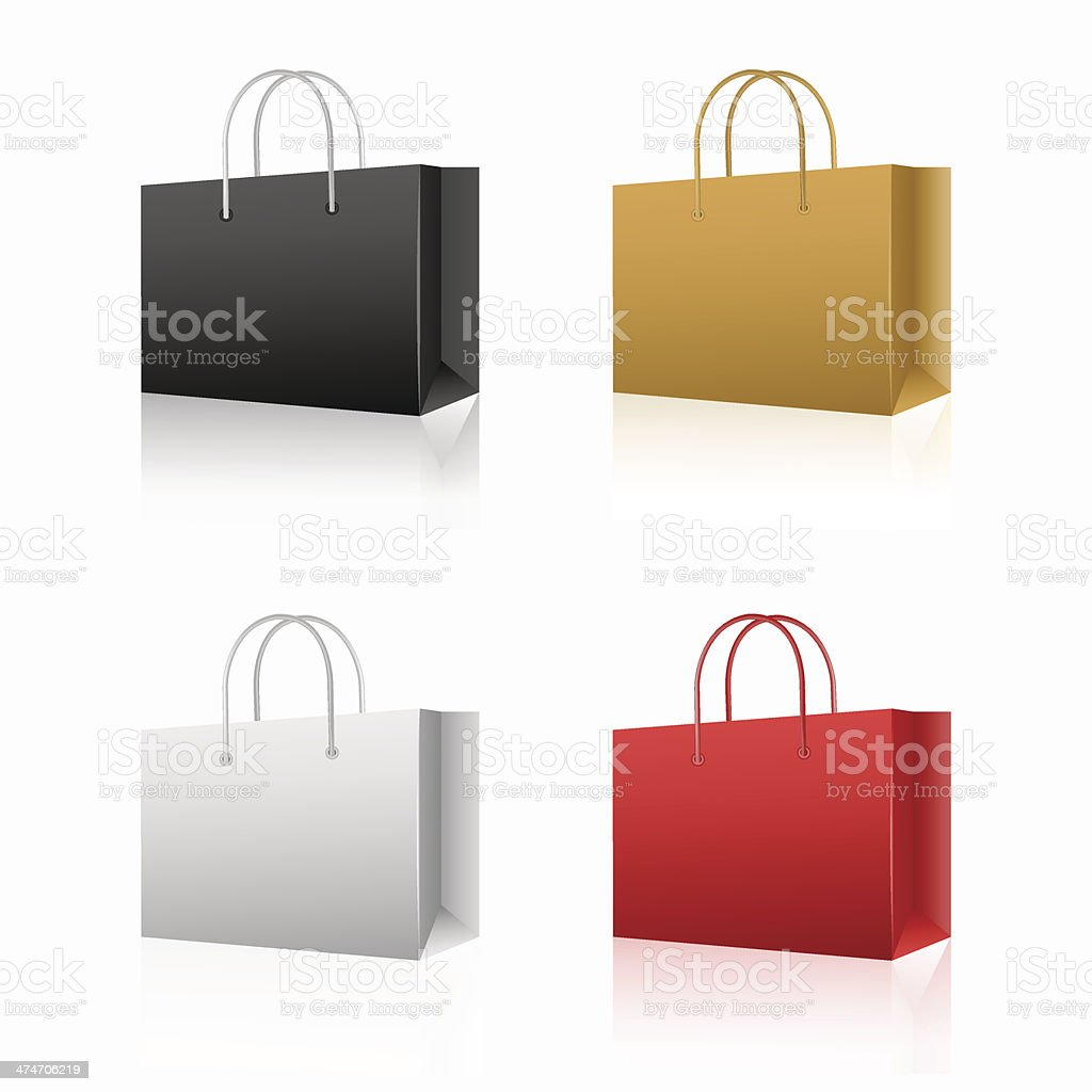 Shopping Bag - Illustration vector art illustration