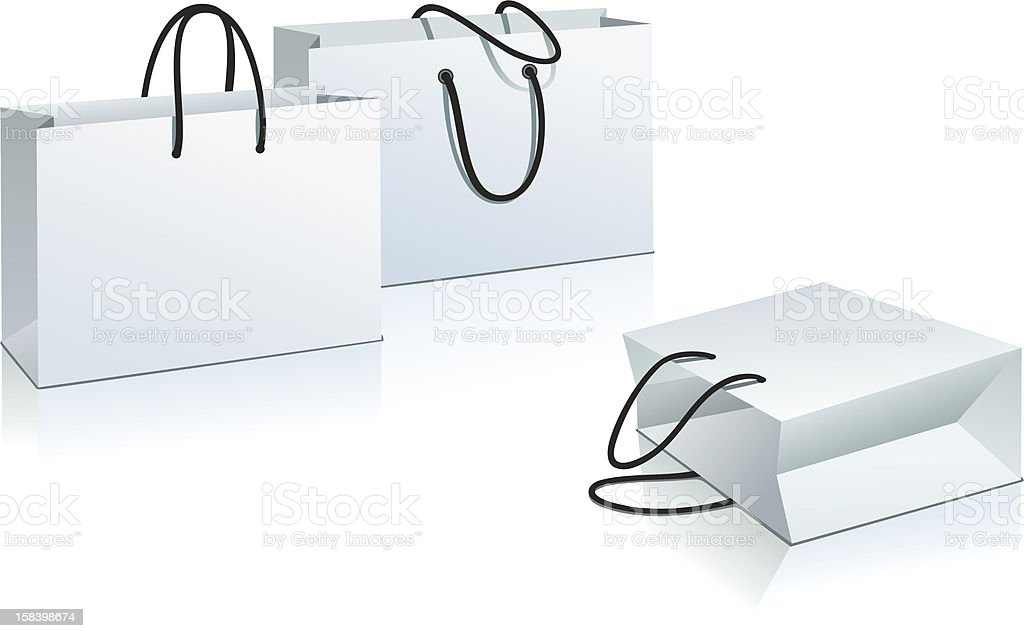 shopping bag royalty-free stock vector art