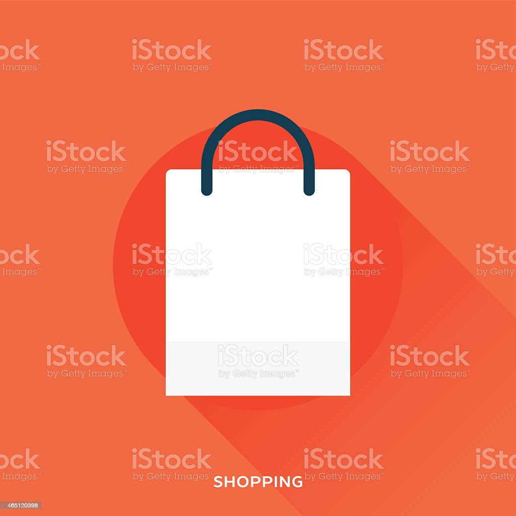 Shopping Bag vector art illustration
