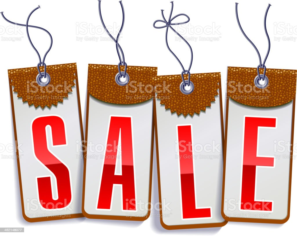 Shopping buy and sale label royalty-free stock vector art