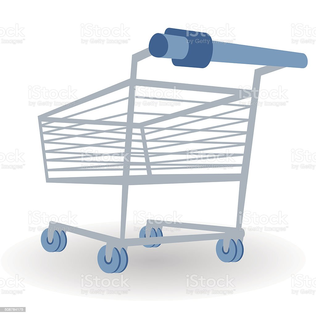 Shopping Cart Illustration vector art illustration