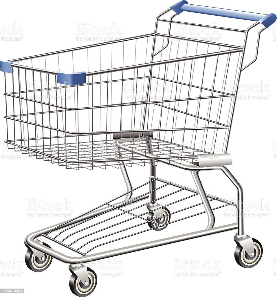 Shopping Cart vector art illustration