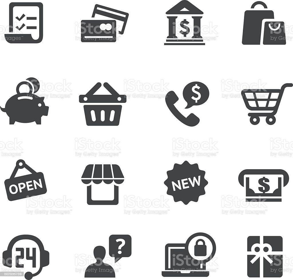 Shopping Icon - Acme Series vector art illustration