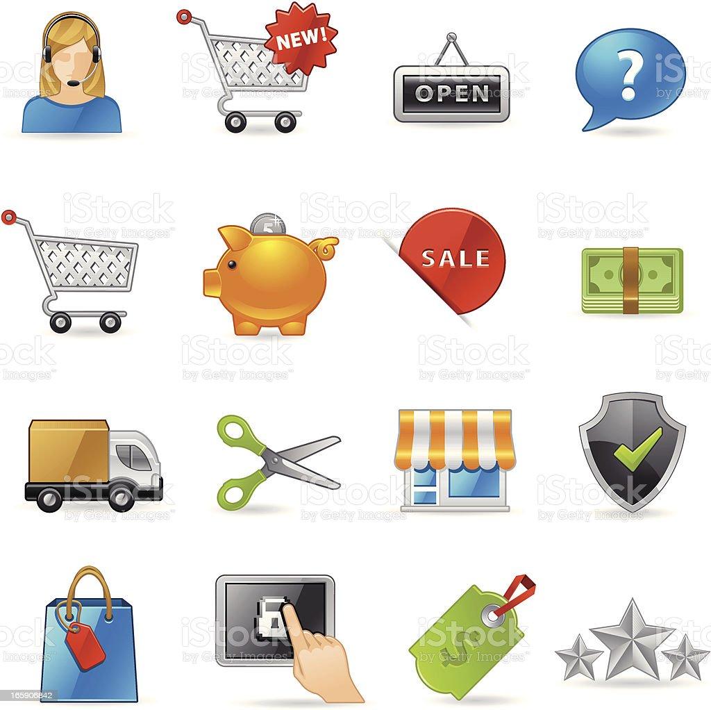 Shopping Icon royalty-free stock vector art