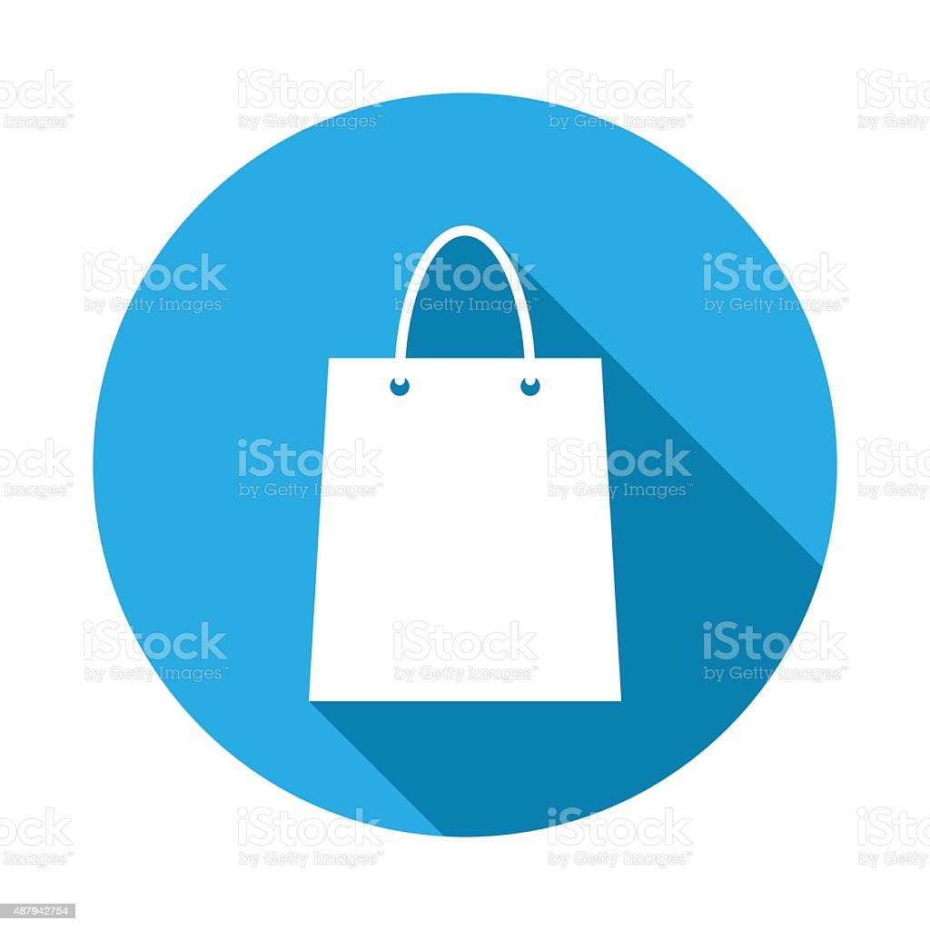 Shopping icon vector art illustration