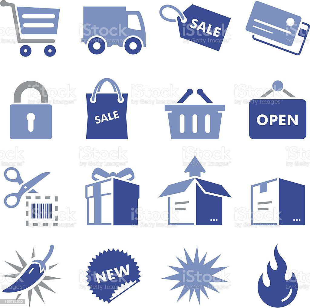 Shopping Icons - Pro Series royalty-free stock vector art