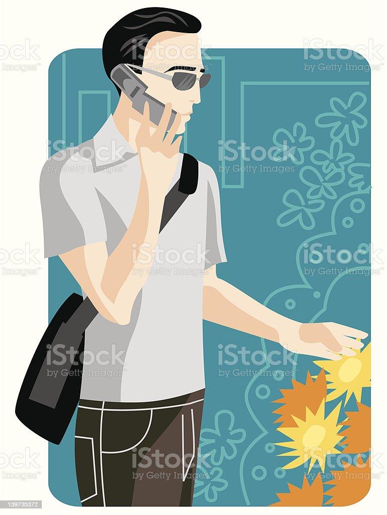 Shopping Illustration Series vector art illustration
