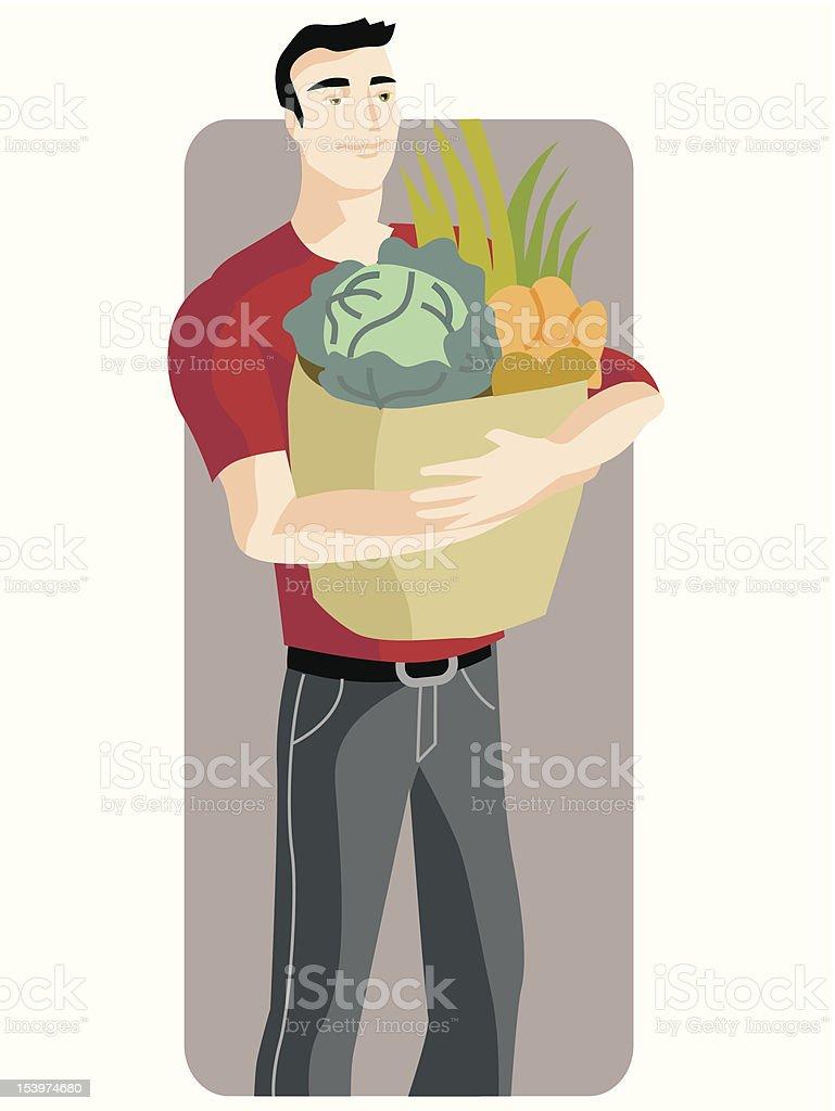 Shopping Illustration Series royalty-free stock vector art