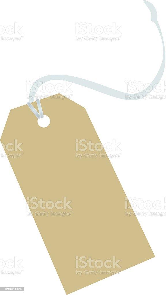 shopping tag royalty-free stock vector art