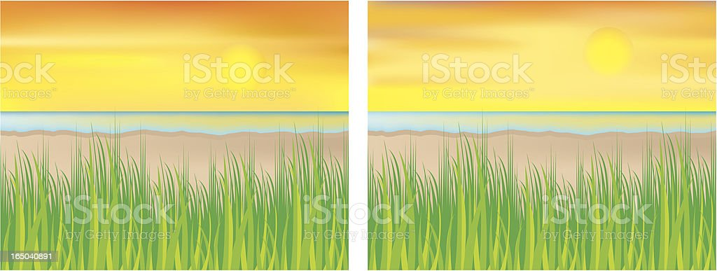 shoreline royalty-free stock vector art