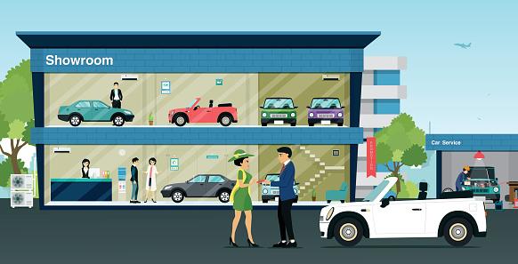 clipart car dealership - photo #13