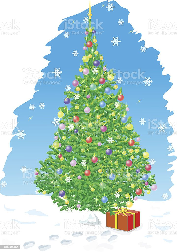 ?hristmas card royalty-free stock vector art