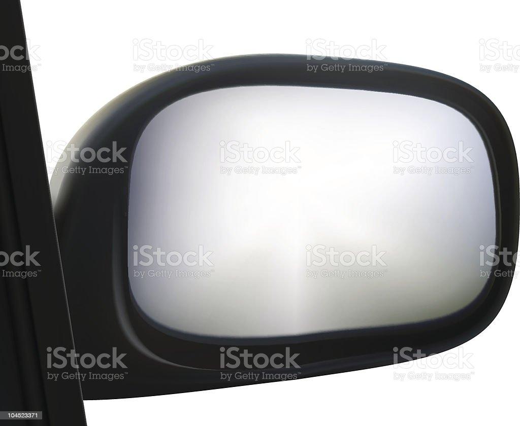 side mirror royalty-free stock vector art