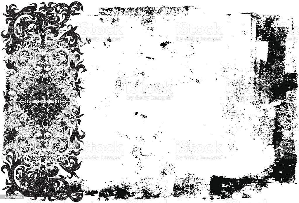 side scroll design royalty-free stock vector art
