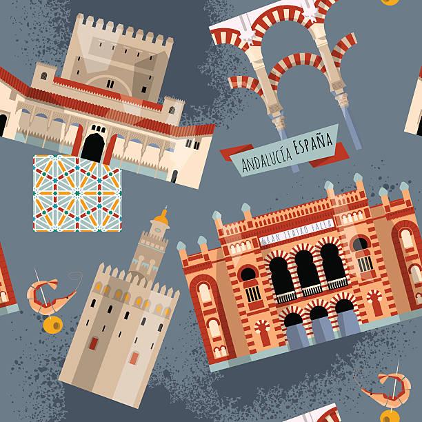 Cordoba spain clip art vector images illustrations istock for Oficina turismo cordoba
