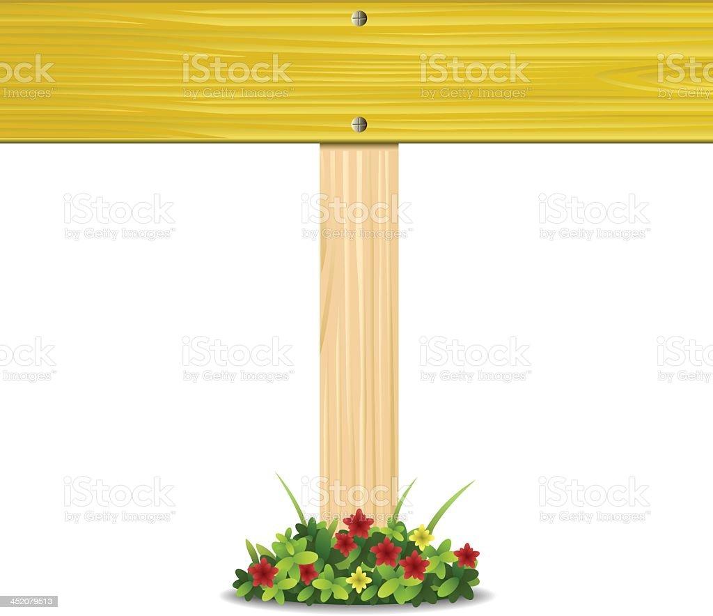 Sign board royalty-free stock vector art