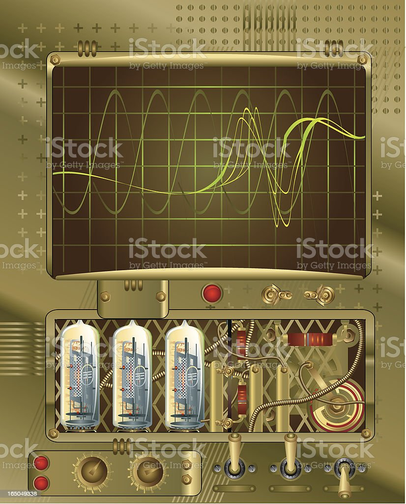 Signal Detected vector art illustration