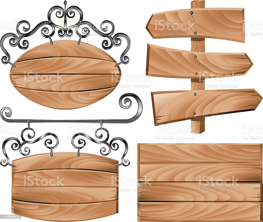 signs royalty-free stock vector art