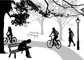 Silhouette Parkians