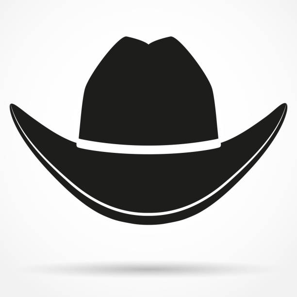 Cowboy Hat Isolated Clip Art, Vector Images & Illustrations - iStock