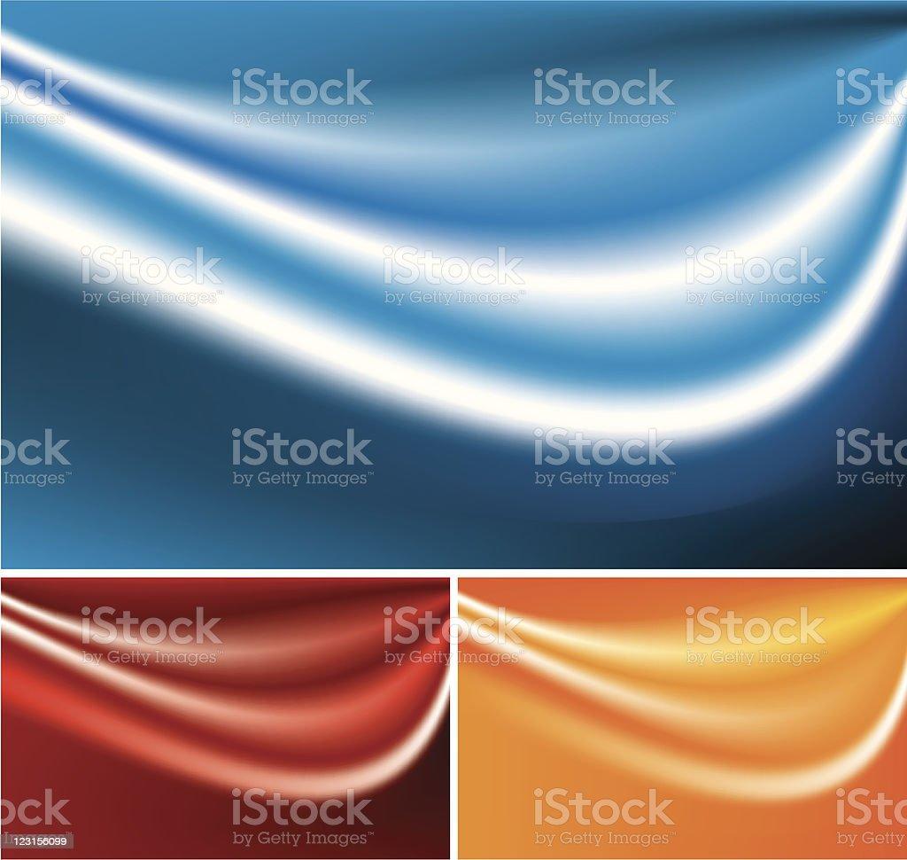 Silk background royalty-free stock vector art