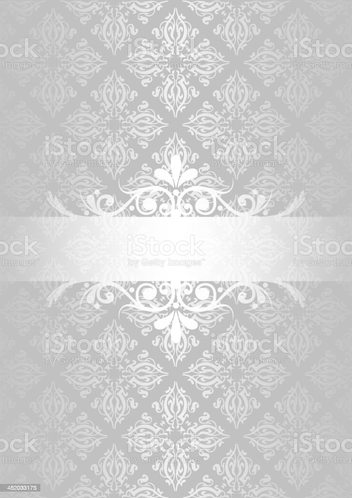Silver background royalty-free stock vector art