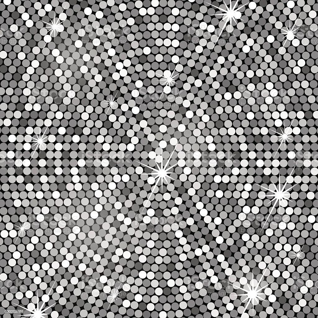 Silver background, vector vector art illustration