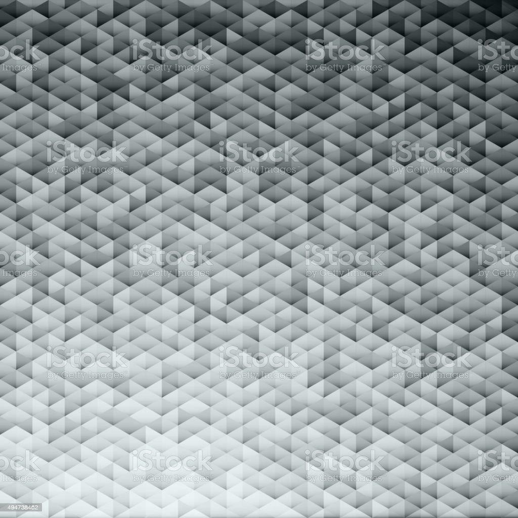 Silver gray glittering lamina sequins mosaic pattern. vector art illustration