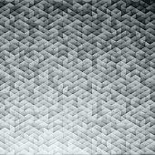 Silver gray glittering lamina sequins mosaic pattern.