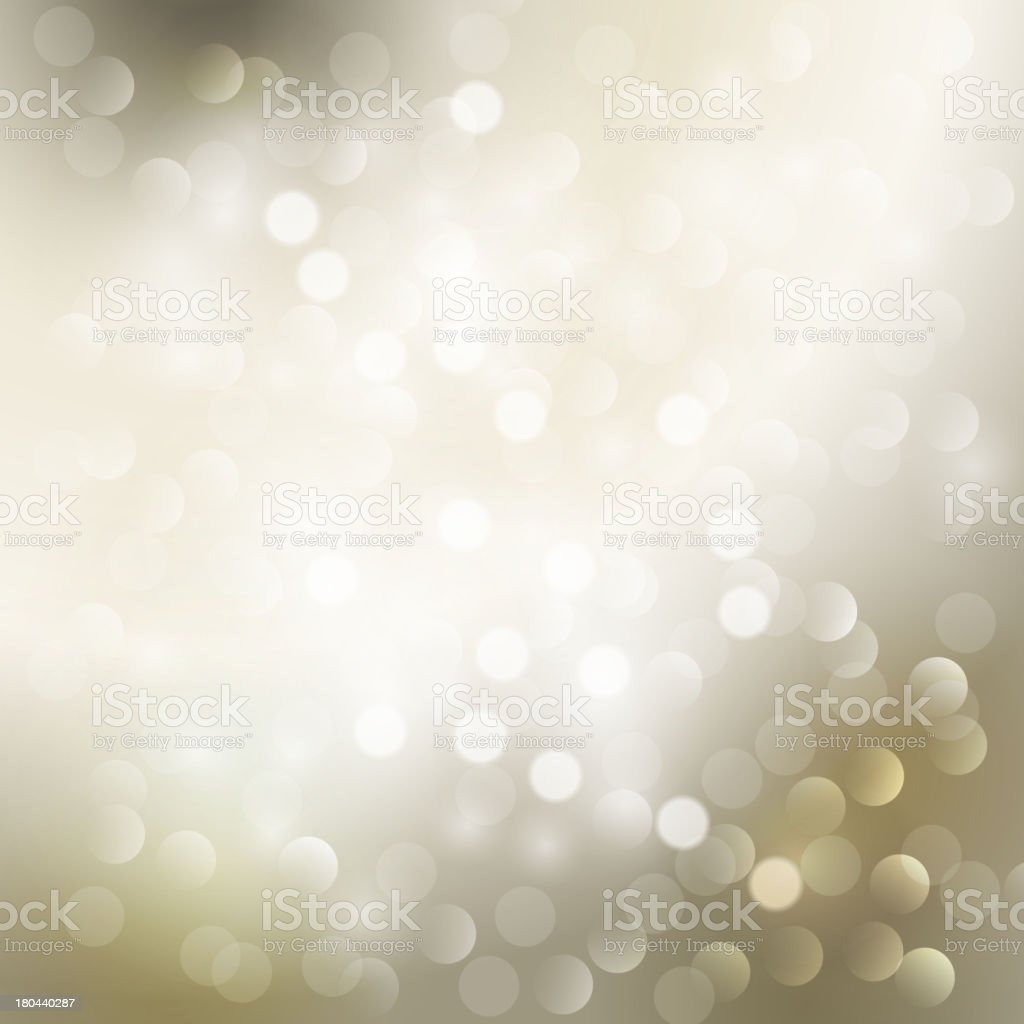 Silver holiday blurred light background royalty-free stock vector art