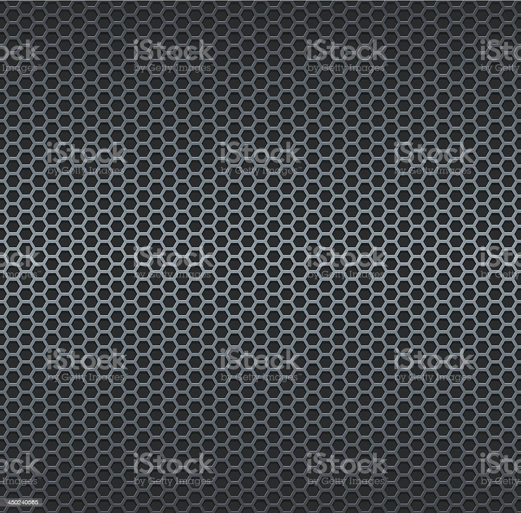 Silver metallic grid background royalty-free stock vector art