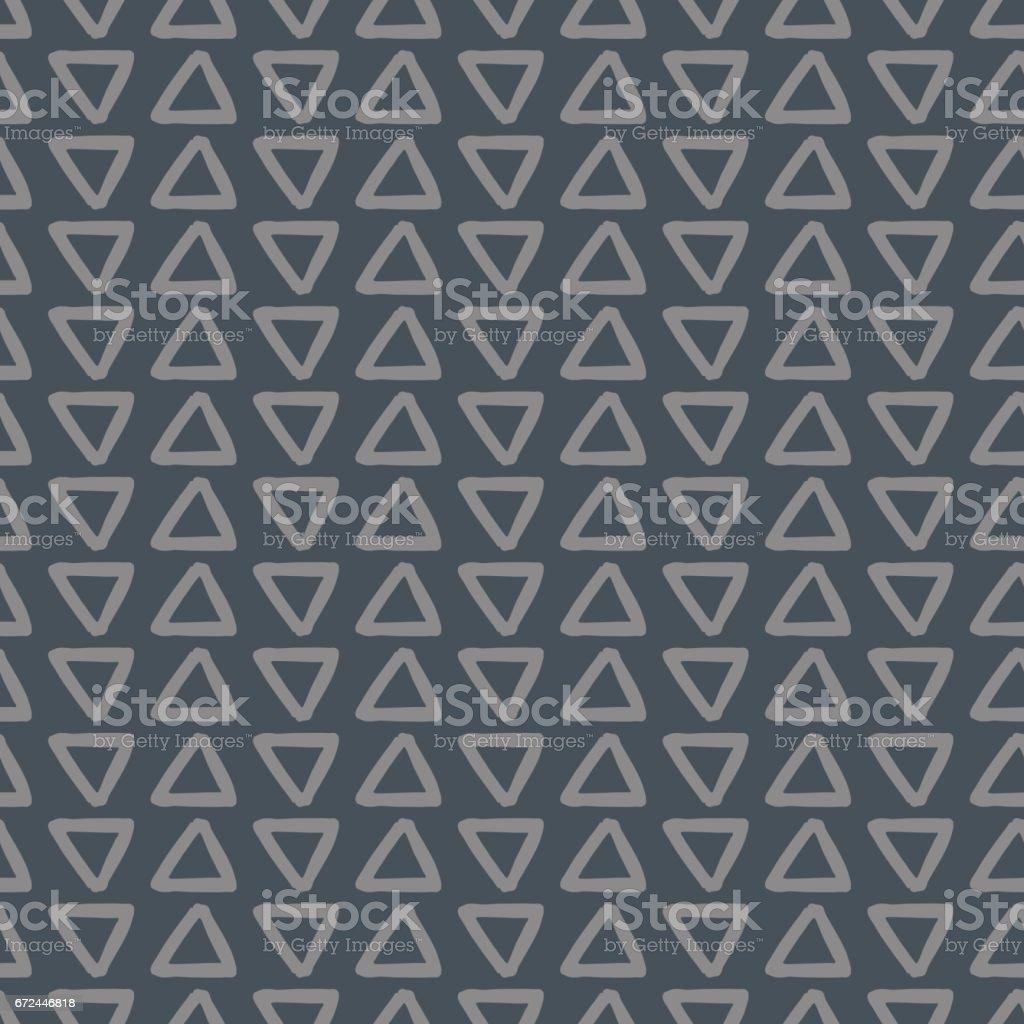 Simple Abstract Seamless Pattern vector art illustration