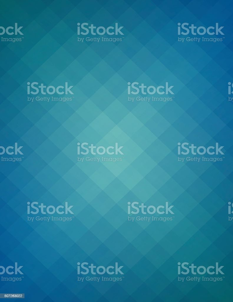 Simple blue pixels background vector art illustration