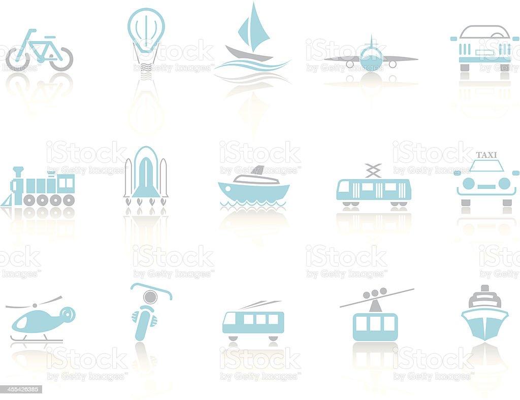 Simple blue – Transport royalty-free stock vector art