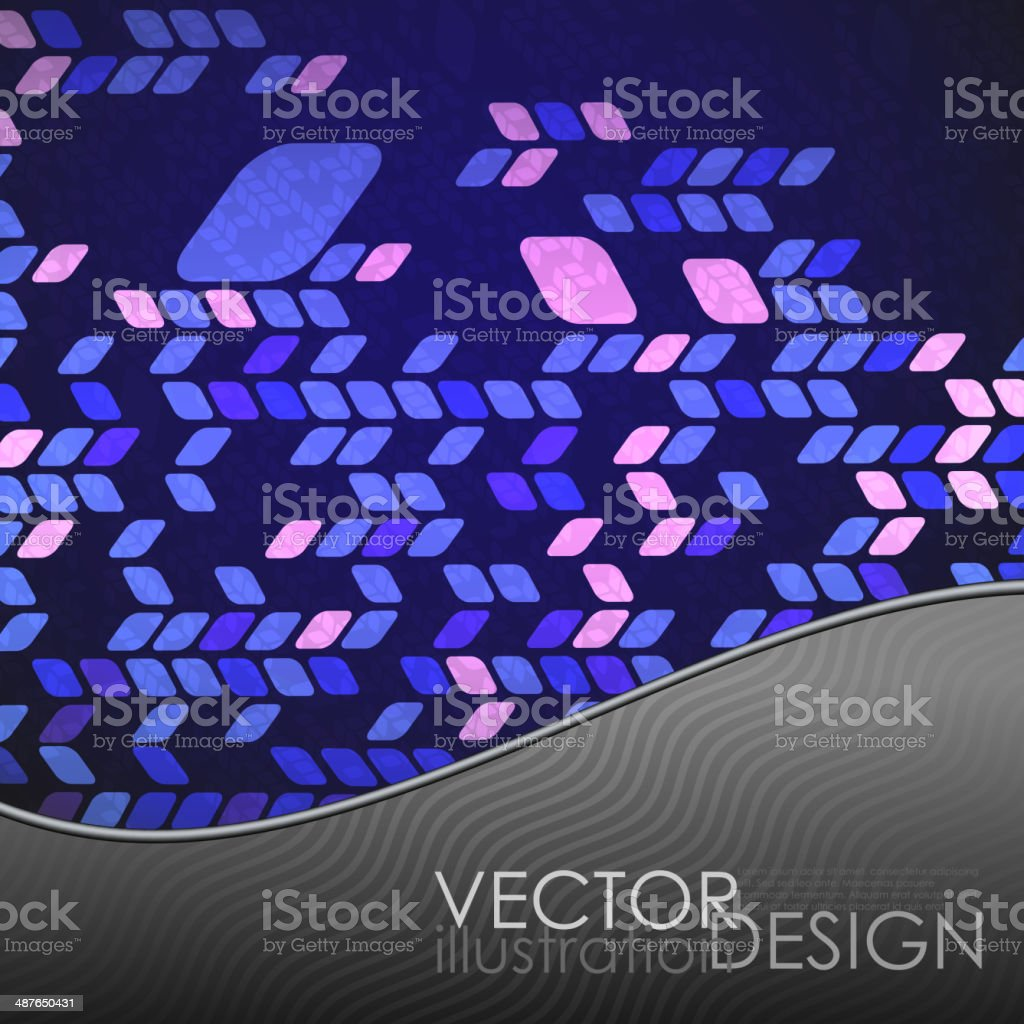 Simple Geometric Pattern. royalty-free stock vector art