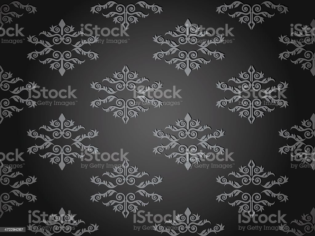 Simple gray background - VECTOR royalty-free stock vector art