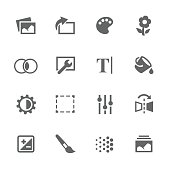 Simple Image Settings Icons