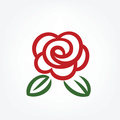 Rose Clip Art, Vector Images & Illustrations - iStock