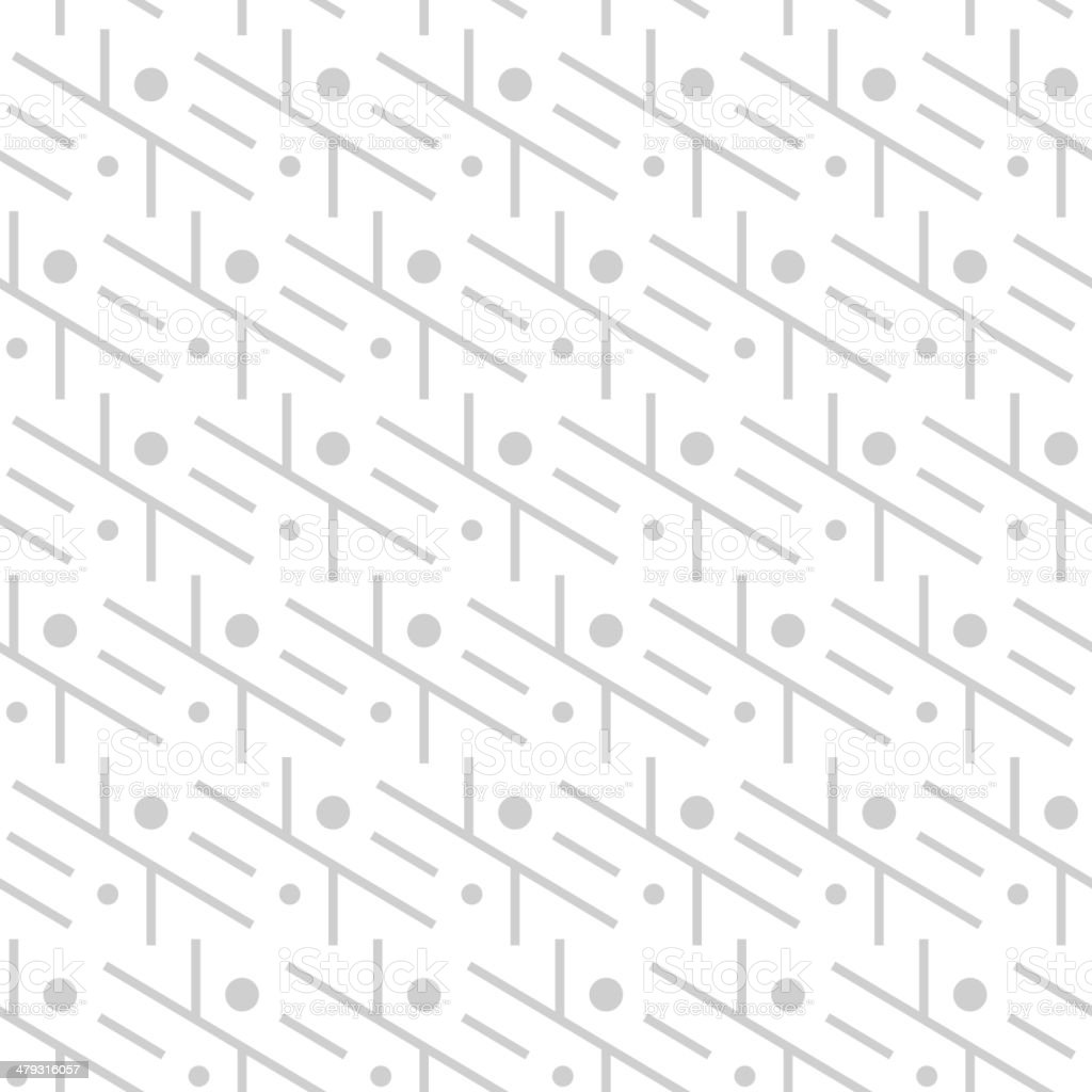 Simple seamless minimalistic pattern vector art illustration