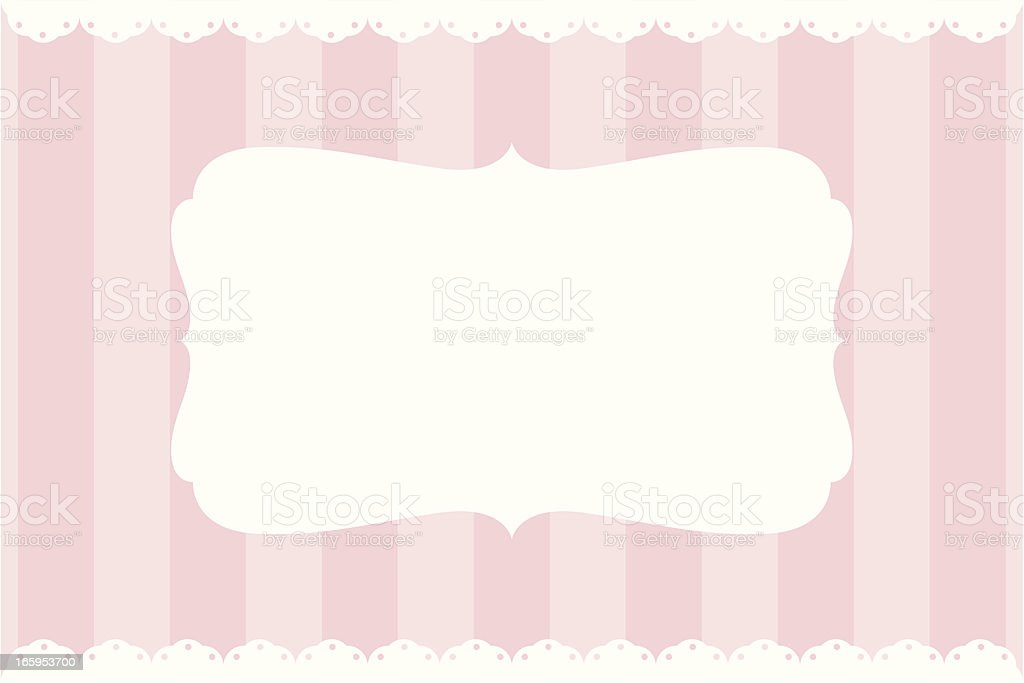 Simple Vintage Banner vector art illustration