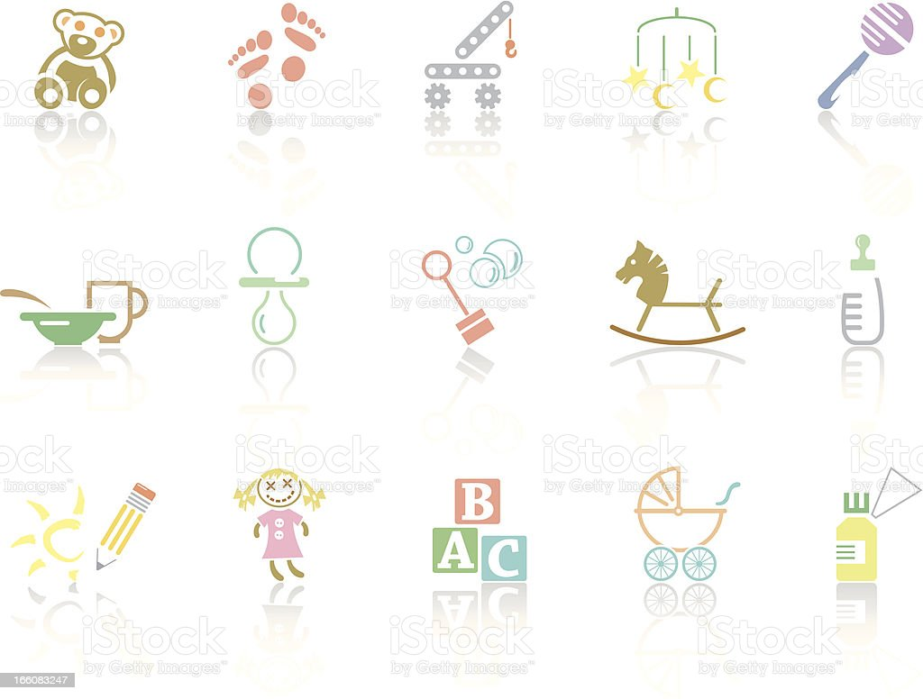 Simplecolor – Childhood royalty-free stock vector art