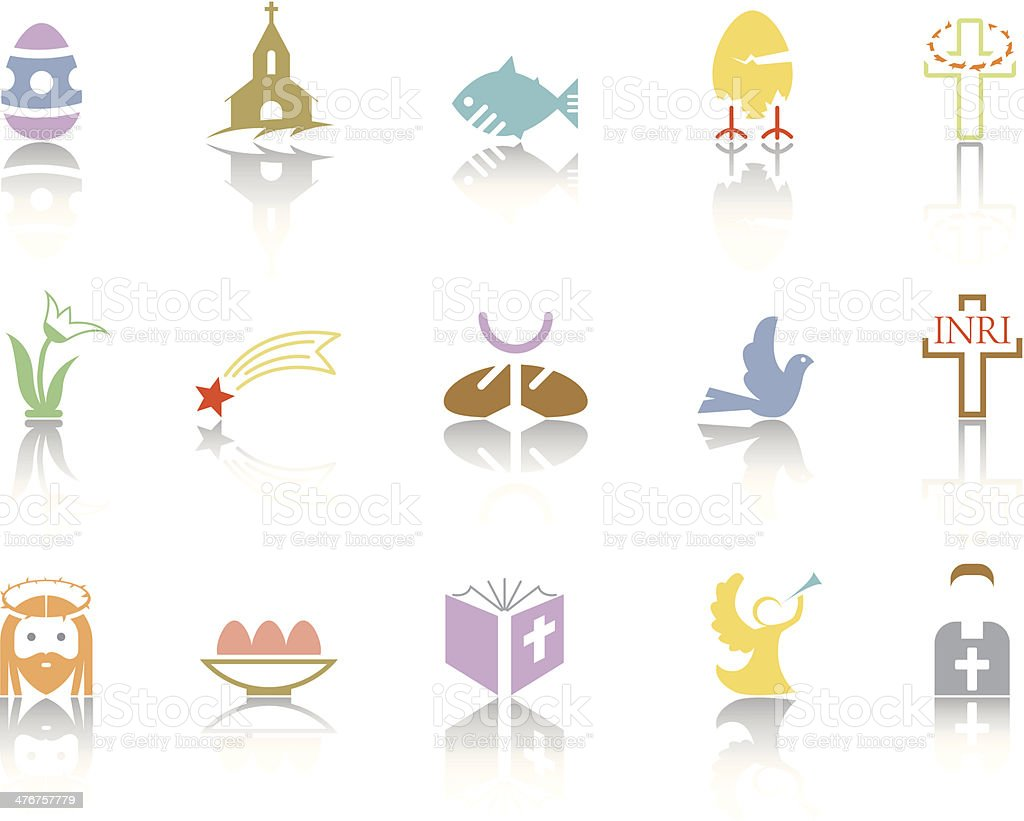 Simplecolor – Easter royalty-free stock vector art