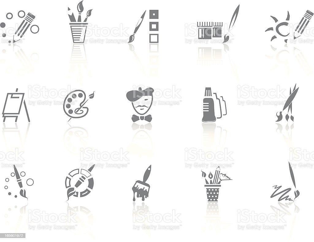 Simplicity > Art royalty-free stock vector art