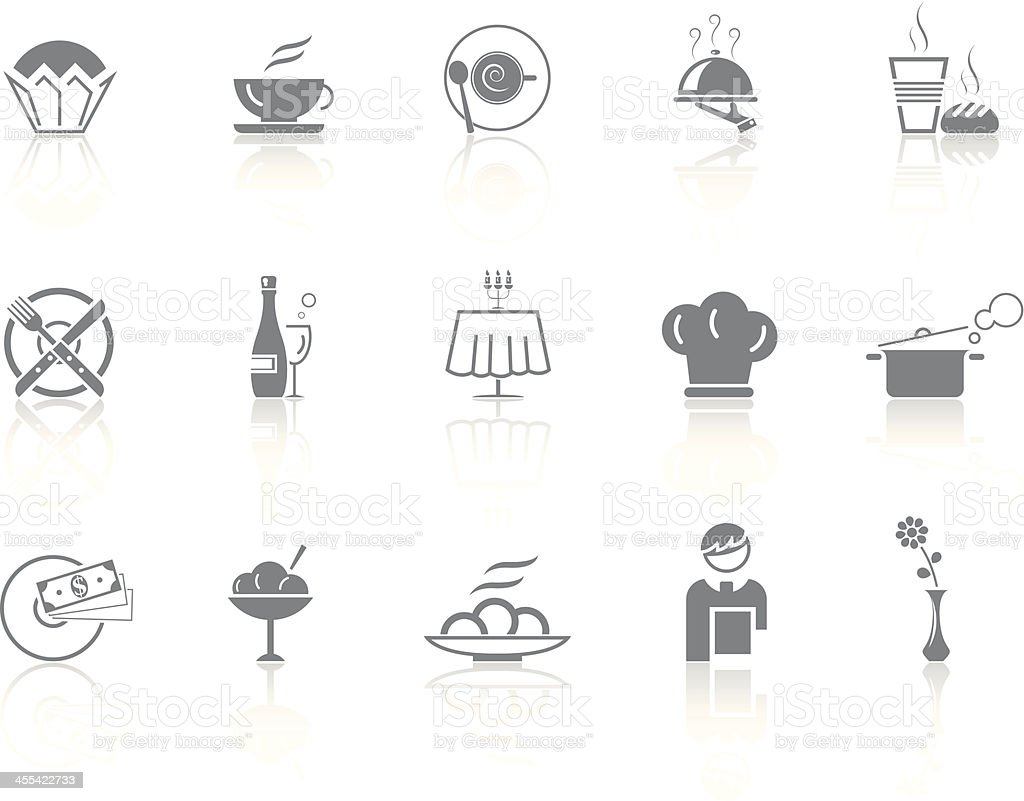 Simplicity > Cafe & Restaurant royalty-free stock vector art