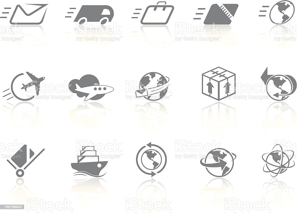Simplicity > Delivery royalty-free stock vector art