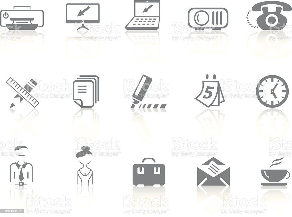 Simplicity > Office royalty-free stock vector art